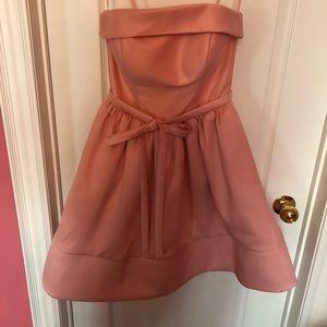 terani couture strapless dress